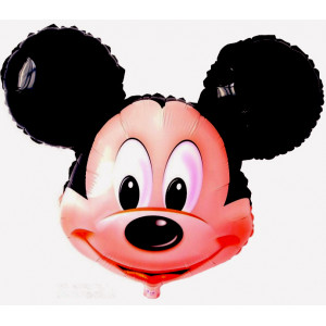 Mickey Mouse head foil balloon