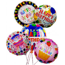 Happy Birthday Mylar Balloons