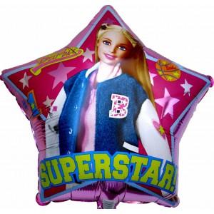 Кукла Барби - Фолиен балон