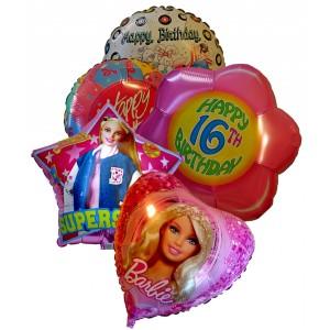 Щастлив рожден ден! # 4 - Фолийни балони