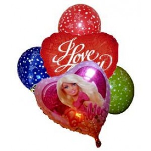 Обичам те - Фолийни балони
