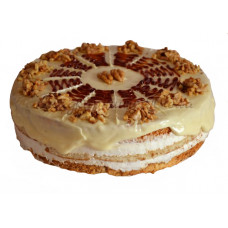 Walnut Cake - 12 pieces