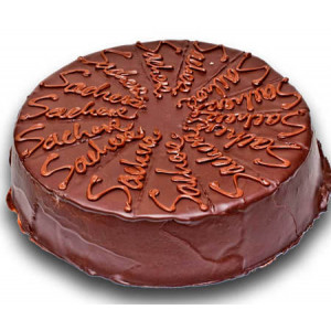 Sacher Cake - 8/16 pieces