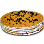 French blueberry cake - 8/16 pieces