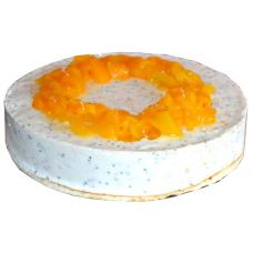 Chia Cake with peaches - 12 pieces