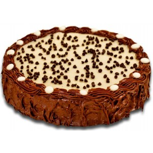 Banana Chocolate Cake - 16 pieces