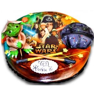Star Wars - Children's cake - 16 pieces