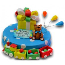 Toys - Children's cake - 16 pieces