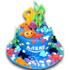Nemo - Children's cake - 16 pieces