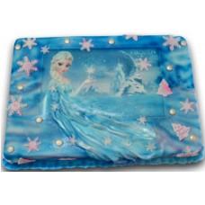 Замръзналото кралство # 2 - Детска торта - 16 парчета