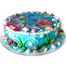 Nemo # 2 - Children's cake - 16 pieces