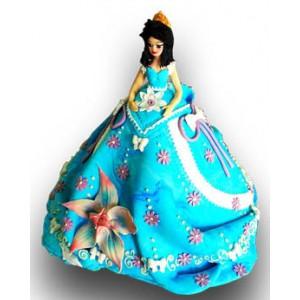 Принцеса - Детска торта - 16 парчета