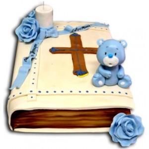 Baptism Cake - 16 pieces