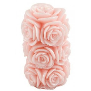 Pink Rose Candle