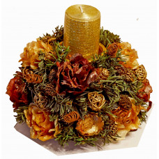 Christmas Candlestick # 3 - Christmas table decoration