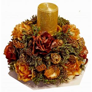 Christmas Candlestick # 3 - Christmas table decoration
