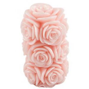 Розова роза - Свещ