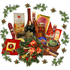 Christmas Basket of Wonderful Surprise