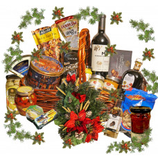 Healthy Christmas Basket