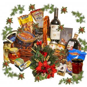 Healthy Christmas Basket