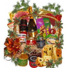 Delicious Christmas basket