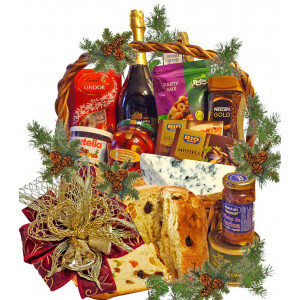 Happy New Year! - gourmet basket