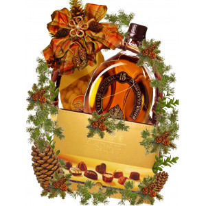Party time Christmas basket