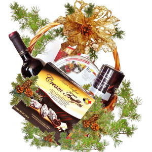After Christmas - Gift basket