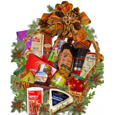Many Thanks - Christmas gourmet basket