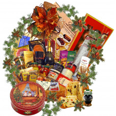 Best of the best - Christmas gourmet basket and truffles