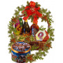 Best wishes Christmas basket