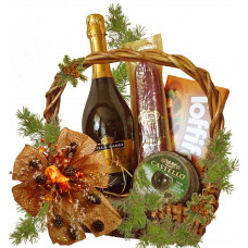 Christmas night basket
