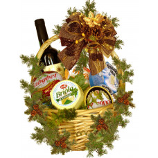 Christmas Cheese Basket