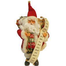 Дядо Коледа със списък с пожелания