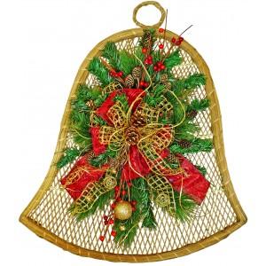 Камбана за Коледа - Украса за стена - УНИКАТ!