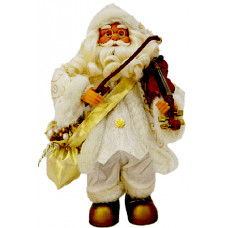 Santa playing violin - Christmas Decoration