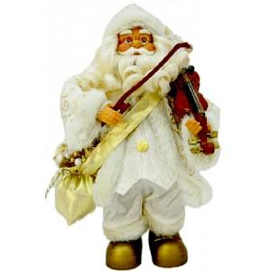 Музикален Дядо Коледа с цигулка