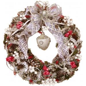 Silent night - Christmas wreath - Unique!