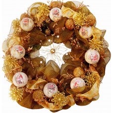 Christmas Wreath # 4 - Unique craftsmanship!
