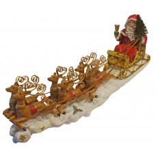 Шейната на Дядо Коледа - Сувенир от полирезин