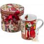 Porcelain cup - Santa mug