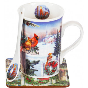 Christmas mug & spoon gift set # 2