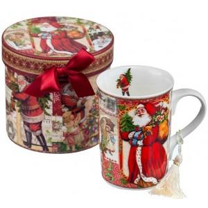 Порцеланова чаша - Дядо Коледа мъг