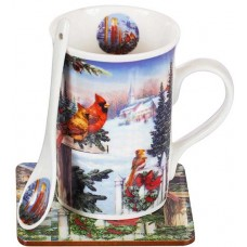 Christmas mug & spoon gift set