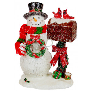 Снежко с пощенска кутия - Подарък за Коледа