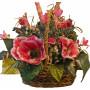 Silk Flowers Basket - Dorris