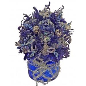 Синият Ангел - Уникат! - Изкуствени цветя