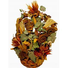 Dried flowers in a basket - Dakota
