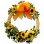 Sunflowers Wreath