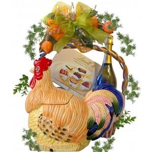 Кошница с подаръци за Великден # 1
